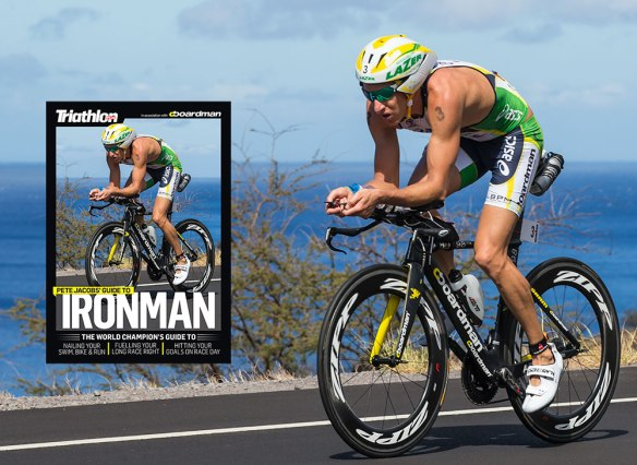 Triathlon Plus Magazine - Kona Supplement - Published May 28, 2-13. Pete Jacobs on the way back from Hawi and on his way to becoming the 2012 Ironman World Champion.