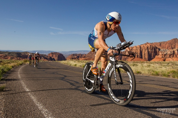 Sebastian Kienle at the Ironman  St. George 70.3