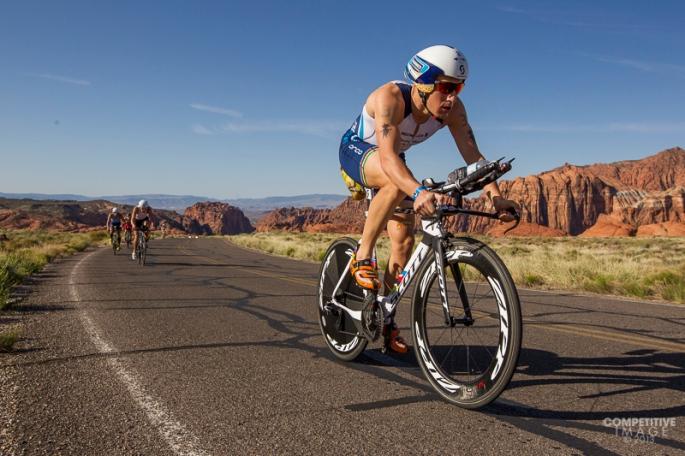 Sebastian Kienle at the Ironman  St. George 70.3