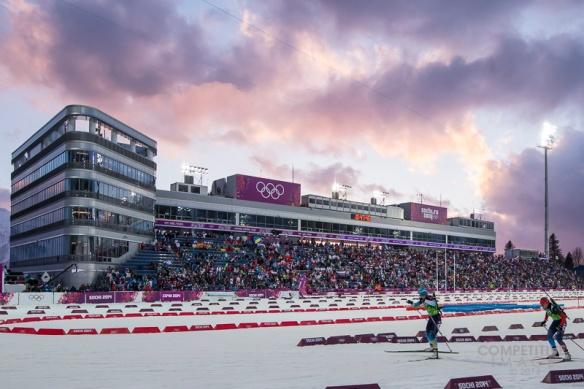 OLYMPICS: FEB XX XXII Olympic Games -   Women's 4x6 Biathlon Relay