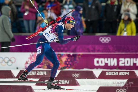 2014 Men's Olympic Biathlon