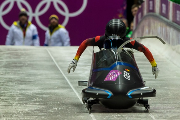 OLYMPICS: FEB XX XXII Olympic Games -  Women's Bobsleigh