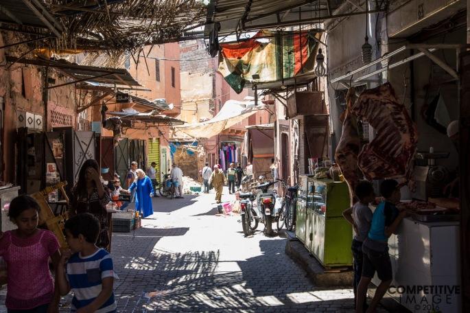 Travel in Marrakech t