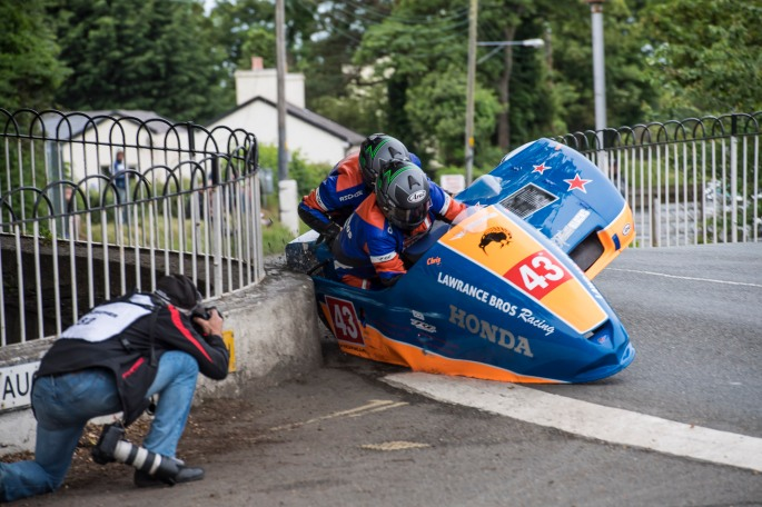 Isle of Man Tourist Trophy - 2017Supersport and sidecar